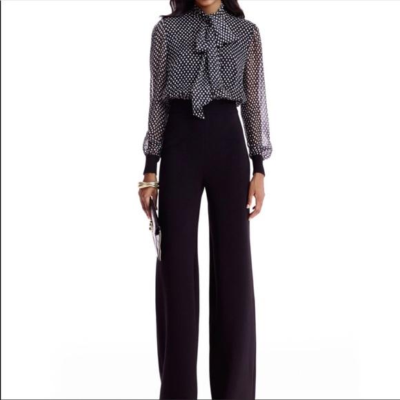 6115213dc44 Diane Von Furstenberg Pants - Diane von furstenberg Arabella silk jumpsuit
